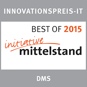 Innovationspreis-IT Besto of 2015 DMS